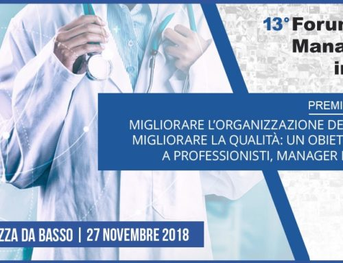 PREMIO QUALITA' 2018 – Il Forum Risk Management in Sanità ospita la finale